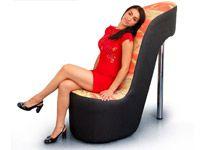 Мягкое кресло Туфелька