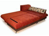 Угловой диван «Кармэн» в разложенном виде