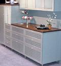 Мебель для кухни с применением пластика