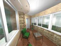 Стильный и прочный балкон от профессионалов
